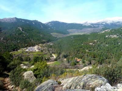 Gran Cañada-Cerro de la Camorza; navidad viajes laguna de urbion ruta en madrid singles madrid sende